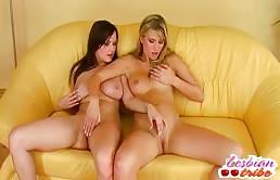 Zoccole lesbiche si maturbano la figa matura