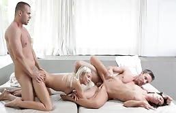 Dido Angel & Gina Devine orgia